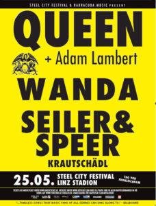 Plakát na festival v Linzi